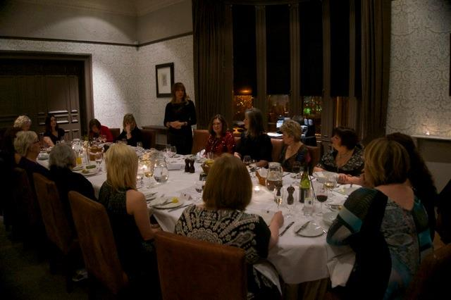 Christmas Celebration with Carol Smillie talking business growth and pants