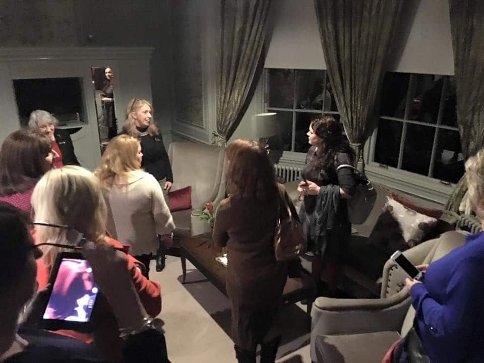 Members Gleneagles Hotel back of house tour and networking dinner