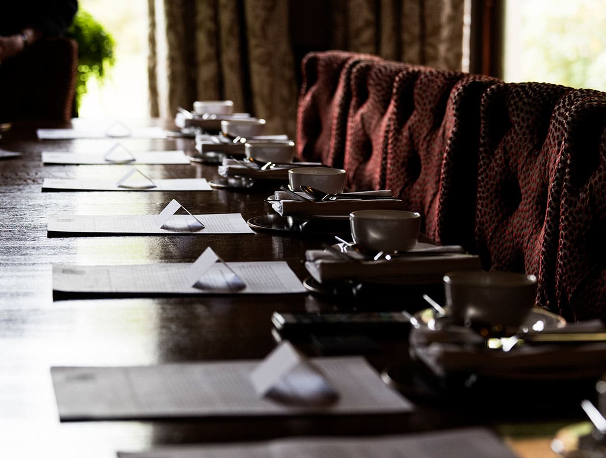 Afternoon tea in style at Cromlix in September 2017