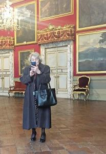 Tanya photographing us in the Palazzo Doria Pamphili