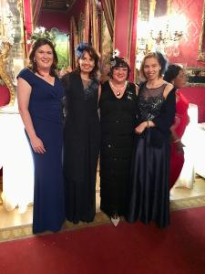 Ann-Maree and Fiona with Susanne Dieterich and Elizabeth Lehnich of Germany