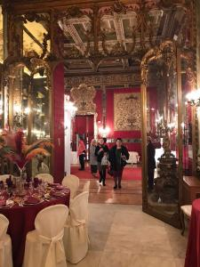 Gala dinner at the Palazzo