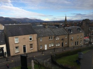 View of Ochil Hills