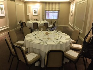 landsdowne club dinner service ready