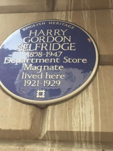 landsdowne club harry selfridge