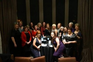 Group photo 2 with carol smillie Dec 2015