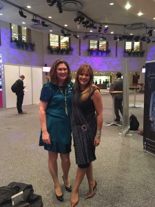 Ann-Maree and Carol Smillie