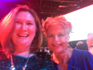 Ann-Maree with Margaret Gibson of RBS