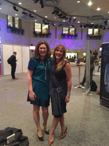 With Carol Smillie