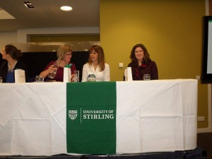 Women in Business Panel - our chairwoman on the right